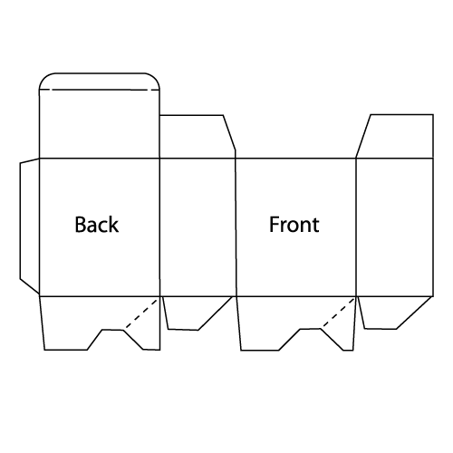 Box Tuck Top Auto Lock Bottom Line